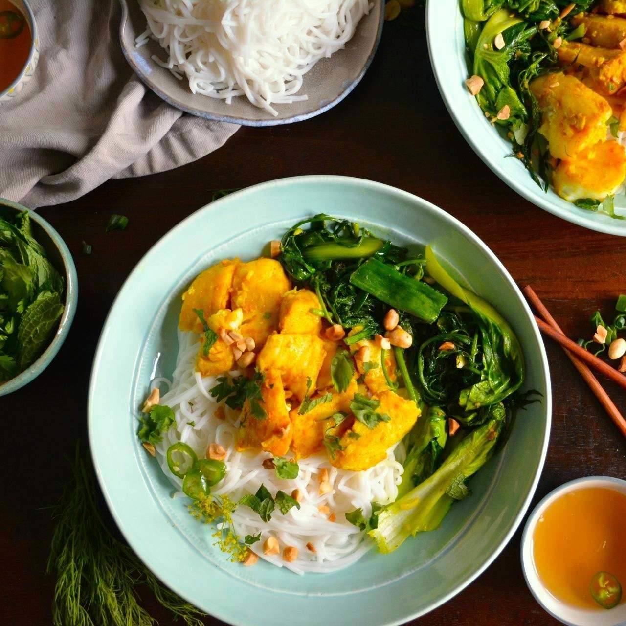 Chả Cá Vietnamese Style Fish With Turmeric Dill Wanderings In My Kitchen